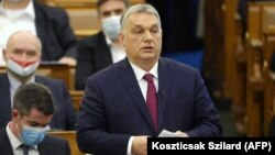 Hungarian Prime Minister Viktor Orban has accused NGOs funded by philanthropist George Soros of political meddling.