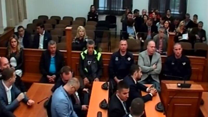 Višegodišnje kazne zatvora za državni udar u Crnoj Gori