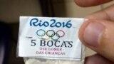 Un pachet cu cocaină, ștampilat cu însemnele olimpice, dintr-o serie confiscate de poliția braziliană