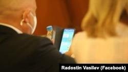 Ivan Geshev, chat, Sevdelina Arnaudova, PR, Boyko Borissov