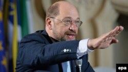 Еуропа парламентінің президенті Мартин Шульц.
