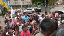 У Донецьку мітингували на підтримку побитого журналіста