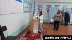 На одній з дільниць в Узбекистані, 4 грудня 2016 року