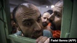 Osumnjičeni za pripadnost IDIL-u u zatvoru na sjeveroistoku Sirije, ilustrativna fotografija