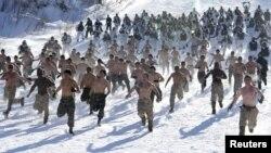 Vježba američkih i južnokorejskih vojnika u Pjongčangu, 2013.