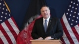 Afghanistan - U.S. Secretary of State Mike Pompeo in Kabul - screen grab