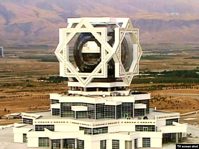 """Ashgabat's """"Wedding Palace"""""""