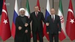 Türkiyə, Rusiya və İran prezidentləri Ankarada görüşüblər