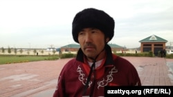 Борхон Корголбай, участник чемпионата Азии по кокпару. Астана, 11 сентября 2013 года.