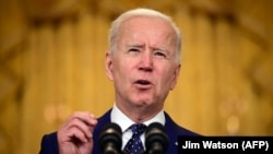 Președintele america Joe Biden, 15 aprilie 2021