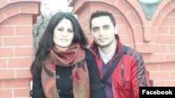 Марат Уелданов-Галустян с сестрой Марианной Мирзоян (Фотография из соцсети Facebook)
