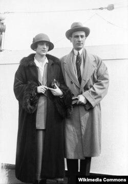 Феликс Юсупов и его жена Ирина Александровна Юсупова. 1930-е