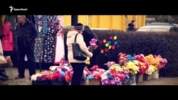 Qara boğday, pomidorlar, oyun ve yırlar: Qırımda Putinniñ bayramı (video)