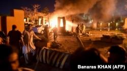 انفجار در هوتل سرینا در کویته پاکستان