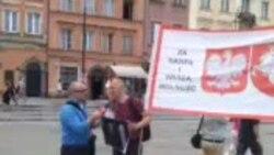 Акцыя салідарнасьці ў Варшаве, 4 жніўня 2013