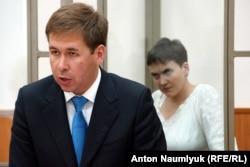 Новиков на процессе Савченко
