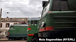 Поезда грузинской железной дороги