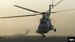 Российский вертолёт Ми-8.