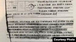 Телеграмма Зинаиды Григоренко Генеральному прокурору СССР Роману Руденко