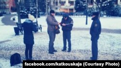 Фота з Фэйсбуку Дар'і Каткоўскай