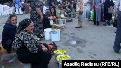 Azərbaycanda bazar.