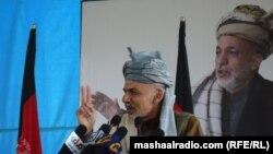 Кандидат в президенты Афганистана Ашраф Гани.