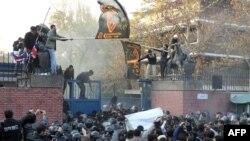 Нападение на посольство Великобритании в Иране, 29 ноября 2011 года
