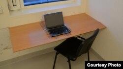 Камера с ноутбуком, в которой содержится Андрес Брейвик. Архивное фото