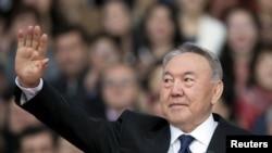 Қазақстан президенті Нұрсұлтан Назарбаев. Алматы, 18 сәуір 2015 жыл.