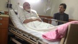 گفتوگو با محمدتقی کروبی در مورد انتقال مهدی کروبی به بیمارستان