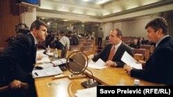 Marović u parlamentu