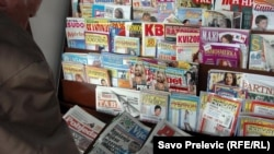 Crnogorske novine, ilustrativna fotografija
