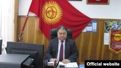 Женишбек Жумашов. Фото с сайта ОАО «Кыргызнефтегаз».