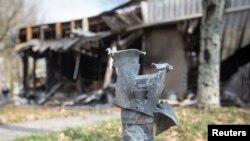 После одного из обстрелов в Донецке