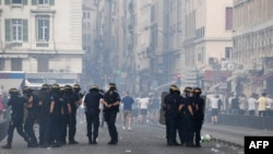 Sukob policije i engleskih navijača u Marseju, ilustrativna fotografija
