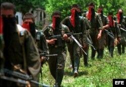 """Юные бойцы колумбийской группировки """"Армия национального освобождения"""""""