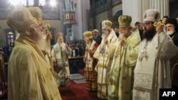 Архивска фотографија- грчките верски лидери