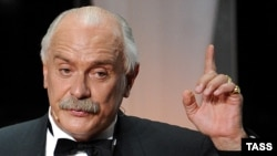Oscar-winning Russian film director Nikita Mikhalkov