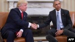 D.Trump və B.Obama
