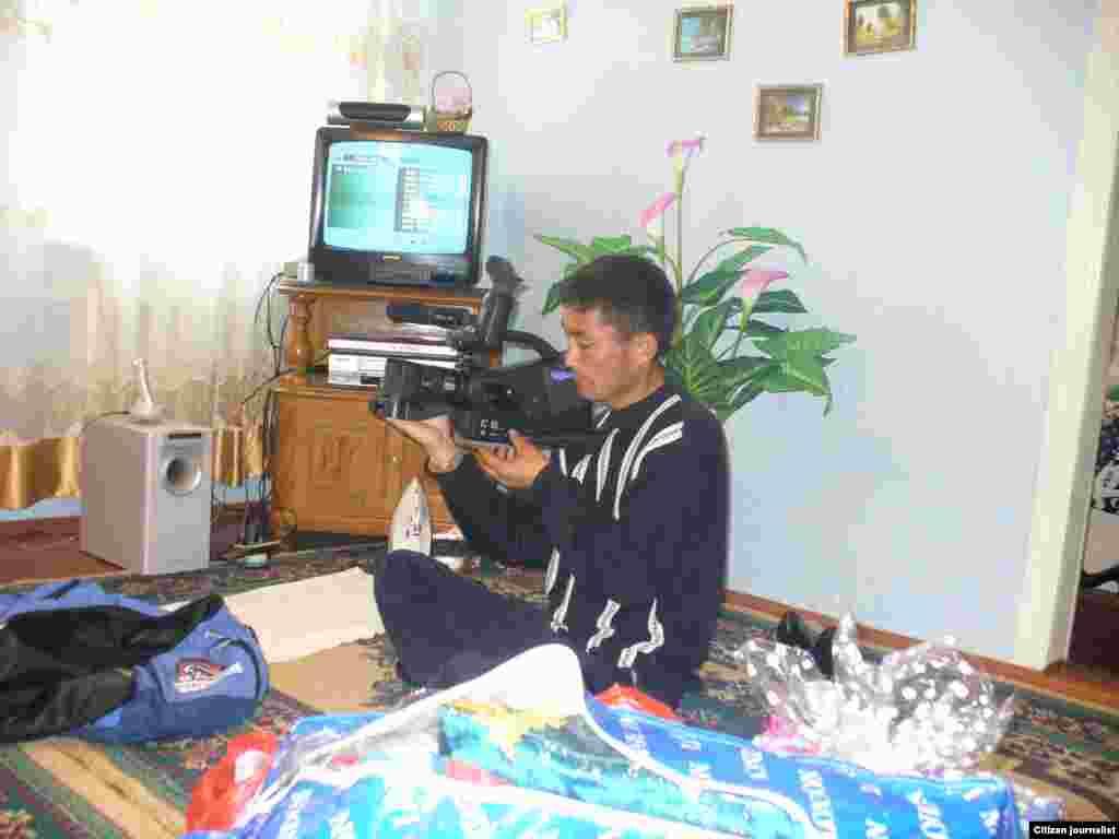 Cameraman... Подготовка к сьемке на свадьбе.