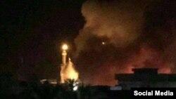 В районе атаки на шиитскую святыню в Багдаде. 7 июля 2016 года.