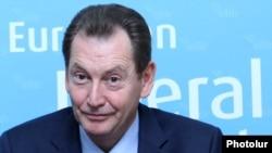 Europarlamentarul Graham Watson, liderul Partidului European Liberal Democrat şi Reformist
