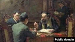 Эдуард Франкфарт, «Тэалягічныя дэбаты» (1888)