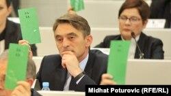 Željko Komšić u Parlamentu BiH, fotoarhiv