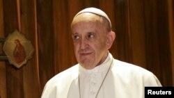 Papa Franjo, arhivska fotografija