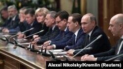 Орусиянын президенти жана министрлер кабинети