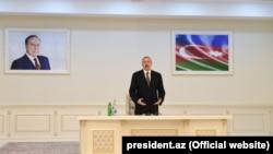 Ильхам Алиев на открытии химико-промышленного парка в Сумгаите