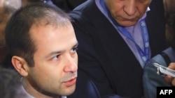 Abkhazia's new de facto Foreign Minister Maksim Gvinjia.