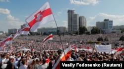 Protest u Minsku, 16. avgust