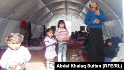 Сириялық босқындар лагерінде, Ирак. (Көрнекі сурет)